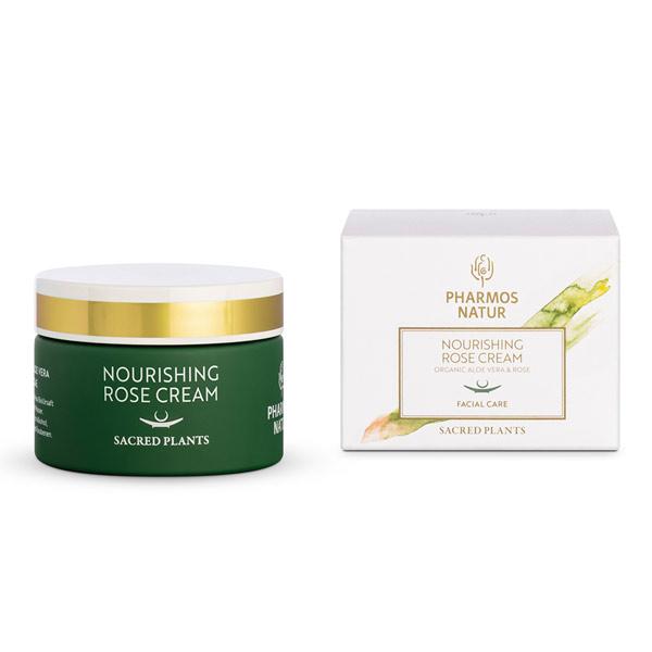 Pharmos Natur Nourishing Rose Cream - Natur Aesthetik