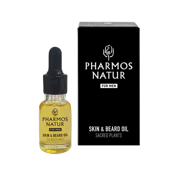 Pharmos Natur Men Skin & Beard OIL - Natur Aesthetik